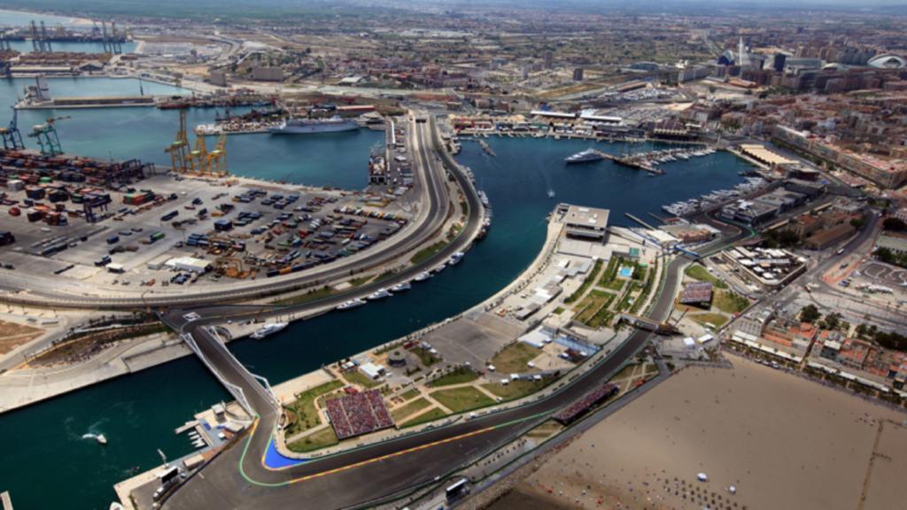 Circuito Valencia - Spagna