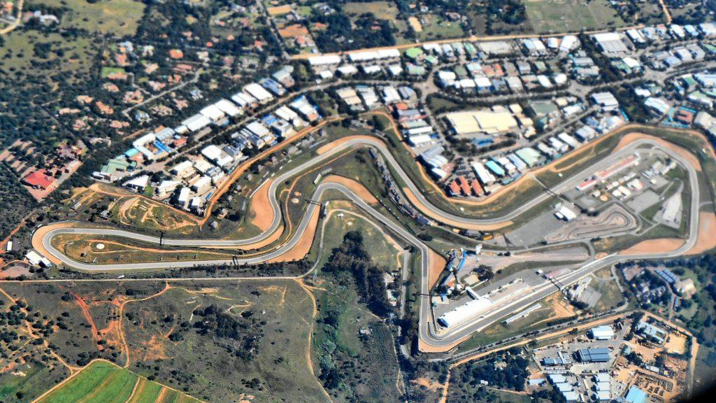 Circuito Kyalami - Sudafrica